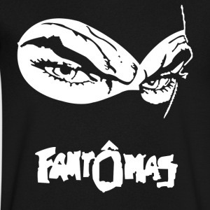 FANTOMAS - Men's V-Neck T-Shirt by Canvas