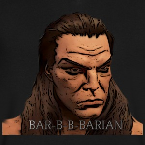 This Barbarian has merch... - Men's V-Neck T-Shirt by Canvas
