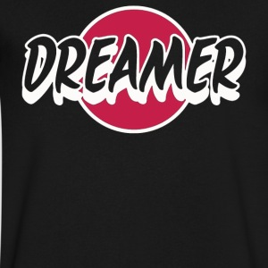 DREAMER - Men's V-Neck T-Shirt by Canvas