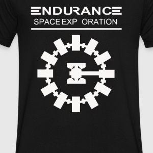 Space exp oration - Men's V-Neck T-Shirt by Canvas