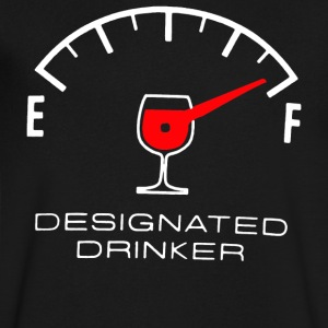 Designated Drinker - Men's V-Neck T-Shirt by Canvas