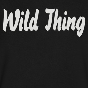 Wild Thing1 - Men's V-Neck T-Shirt by Canvas