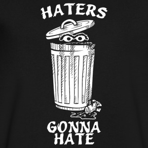 Haters Gonna - Men's V-Neck T-Shirt by Canvas