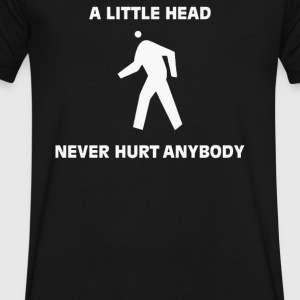 NEVER HURT ANYBODY - Men's V-Neck T-Shirt by Canvas