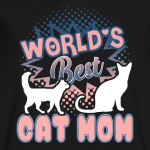 World Best Cat Mom Shirt - Men's V-Neck T-Shirt by Canvas