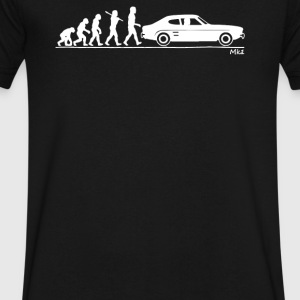 Evolution of Man Ford Capri Mk1 - Men's V-Neck T-Shirt by Canvas