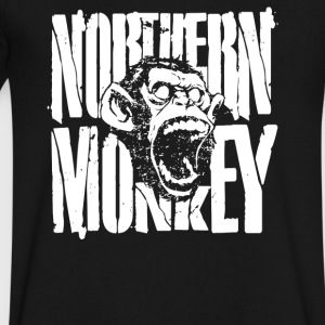 Northern Monkey - Men's V-Neck T-Shirt by Canvas