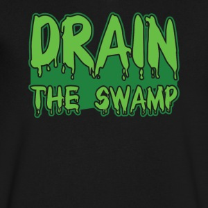 Drain The Swamp Tshirt - Men's V-Neck T-Shirt by Canvas