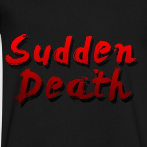 SuddenDeath - Men's V-Neck T-Shirt by Canvas