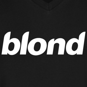 Blonde Blond - Men's V-Neck T-Shirt by Canvas