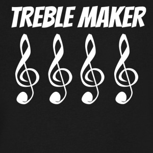 Treble Maker - Men's V-Neck T-Shirt by Canvas