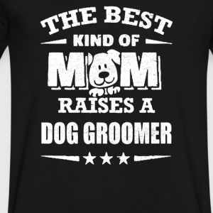 Dog Groomer - Men's V-Neck T-Shirt by Canvas