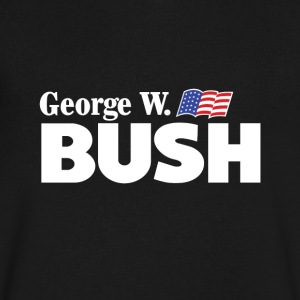 George W Bush For President - Men's V-Neck T-Shirt by Canvas