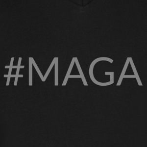 MAGA - Men's V-Neck T-Shirt by Canvas