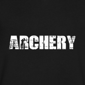 Archery - Men's V-Neck T-Shirt by Canvas