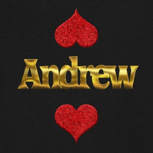 Andrew - Men's V-Neck T-Shirt by Canvas