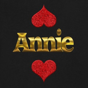 Annie - Men's V-Neck T-Shirt by Canvas