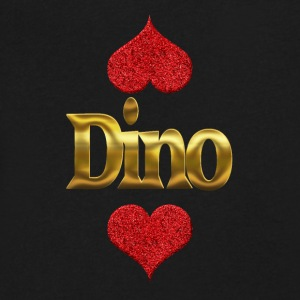 Dino - Men's V-Neck T-Shirt by Canvas
