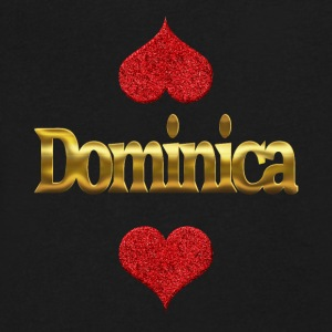Dominica - Men's V-Neck T-Shirt by Canvas