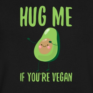 Hug Me If You´re Vegan - Men's V-Neck T-Shirt by Canvas