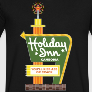 Holiday Inn Cambodia - Men's V-Neck T-Shirt by Canvas