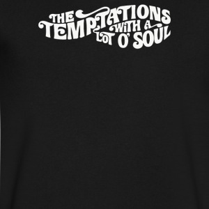 THE TEMPTATIONS - Men's V-Neck T-Shirt by Canvas