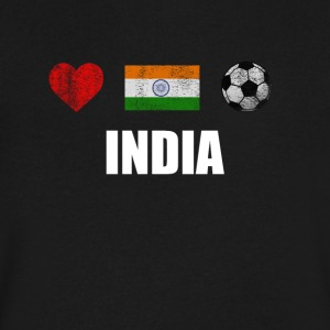 India Football Shirt - India Soccer Jersey - Men's V-Neck T-Shirt by Canvas