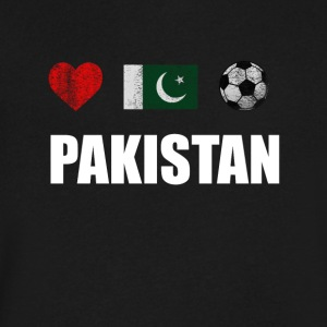 Pakistan Football Shirt - Pakistan Soccer Jersey - Men's V-Neck T-Shirt by Canvas