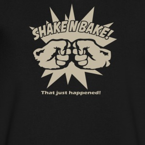 SHAKE AND BAKE - Men's V-Neck T-Shirt by Canvas