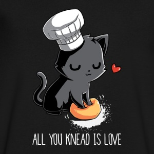 All You Knead Is Love - Men's V-Neck T-Shirt by Canvas