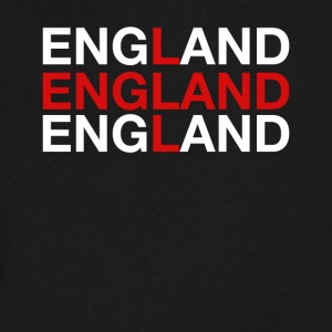 England United Kingdom Flag Shirt - England - Men's V-Neck T-Shirt by Canvas
