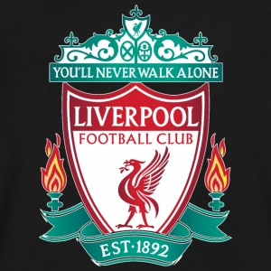 liverpool fc - Men's V-Neck T-Shirt by Canvas