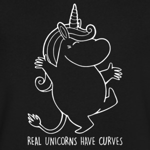 Moomin Real Unicorns - Men's V-Neck T-Shirt by Canvas