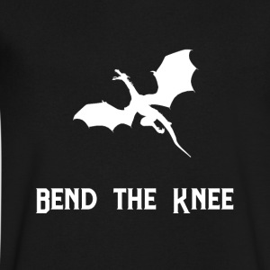BEND THE KNEE - Men's V-Neck T-Shirt by Canvas
