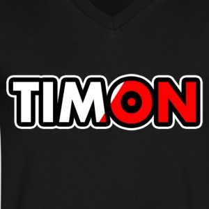 TimonDesing | Special Edition - Men's V-Neck T-Shirt by Canvas