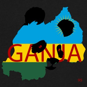 ganja95_ - Men's V-Neck T-Shirt by Canvas
