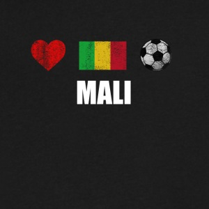 Mali Football Shirt - Mali Soccer Jersey - Men's V-Neck T-Shirt by Canvas