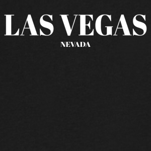 NEVADA LAS VEGAS US DESIGNER EDITION - Men's V-Neck T-Shirt by Canvas