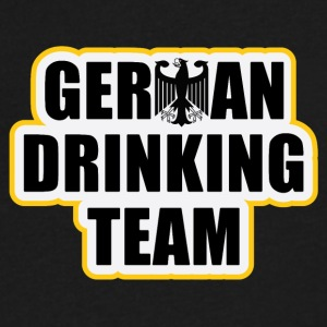 German drinking team Oktoberfest beefest t-shirts - Men's V-Neck T-Shirt by Canvas