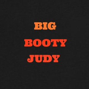 BIG BOOTY JUDY TEXT - Men's V-Neck T-Shirt by Canvas