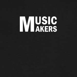 Music Makers - Men's V-Neck T-Shirt by Canvas
