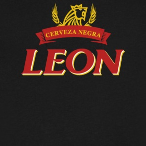 Leon cerveza - Men's V-Neck T-Shirt by Canvas