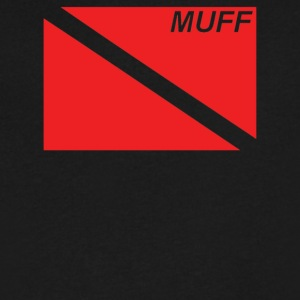 Muff Dive Flag - Men's V-Neck T-Shirt by Canvas