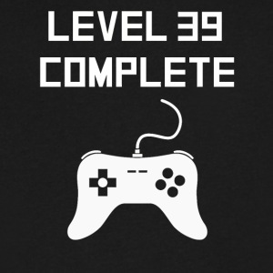 Level 39 Complete - Men's V-Neck T-Shirt by Canvas