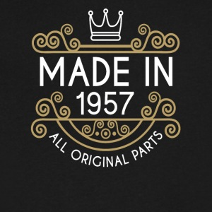 Made In 1957 All Original Parts - Men's V-Neck T-Shirt by Canvas