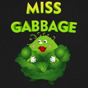 Miss_gabbage - Men's V-Neck T-Shirt by Canvas