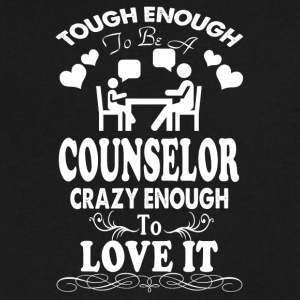 COUNSELOR SHIRT - Men's V-Neck T-Shirt by Canvas