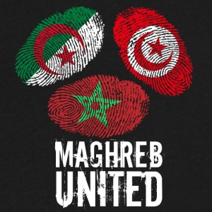 maghrebunited6 - Men's V-Neck T-Shirt by Canvas