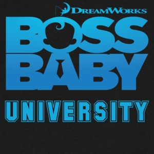 Boss Baby University - Men's V-Neck T-Shirt by Canvas