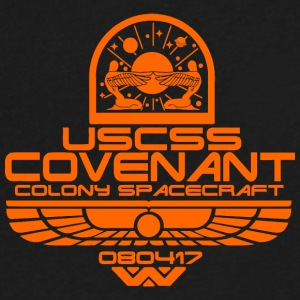 Covenant - Men's V-Neck T-Shirt by Canvas